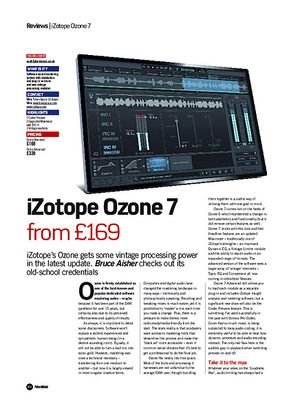 Future Music iZotope Ozone 7