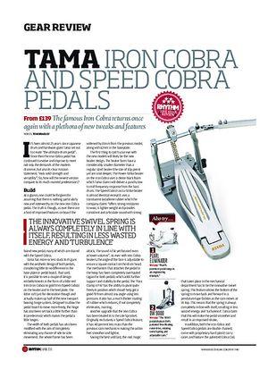 Rhythm Tama Iron Cobra And Speed Cobra Pedals