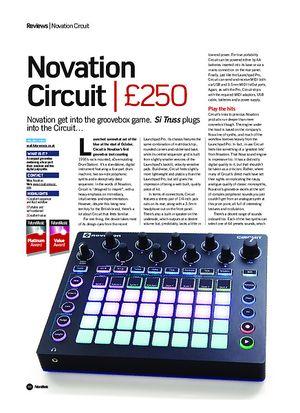 Future Music Novation Circuit