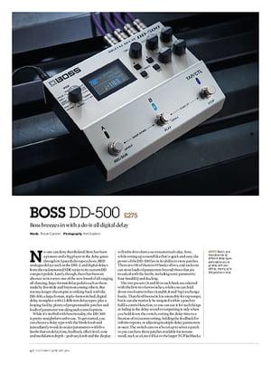Guitarist Boss DD-500
