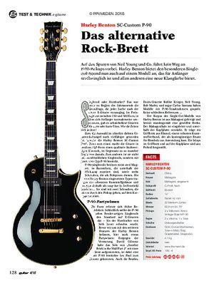 guitar Harley Benton SC-Custom P-90