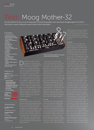 Beat Moog Mother-32