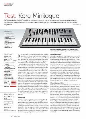 Beat Korg Minilogue