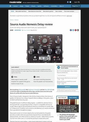 MusicRadar.com Source Audio Nemesis