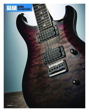 Total Guitar PRS SE Mark Holcomb
