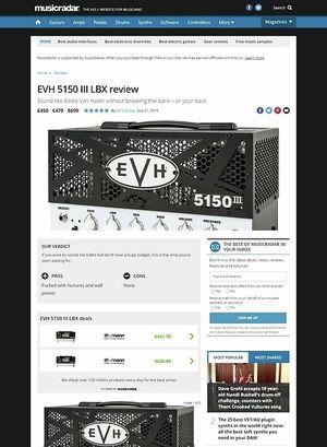 MusicRadar.com EVH 5150 III LBX