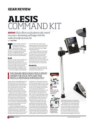 Rhythm Alesis Command Kit