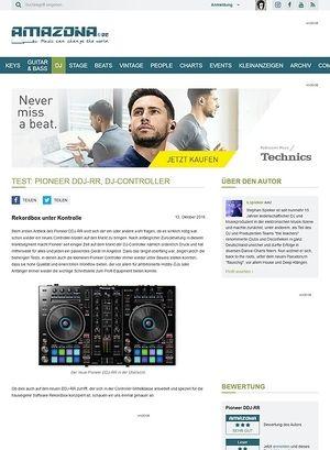 Amazona.de Test: Pioneer DDJ-RR, DJ-Controller