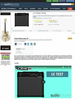 Audiofanzine.com Line 6 Spider V 60