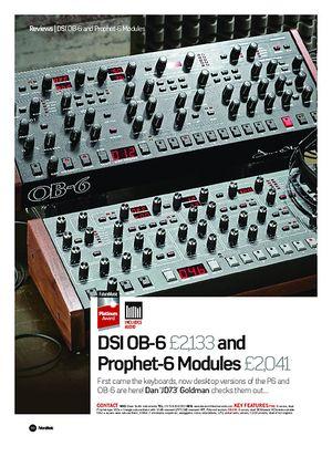 Future Music Prophet-6 Module