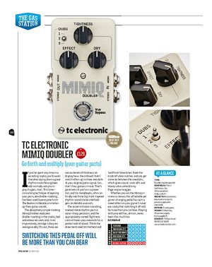 Total Guitar TC Electronic Mimiq Doubler