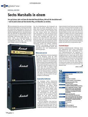 Guitar gear Amp - Marshall JVM 205H