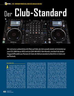 Professional Audio PIONEER CDJ-2000 NXS2 UND DJM-900 NXS2