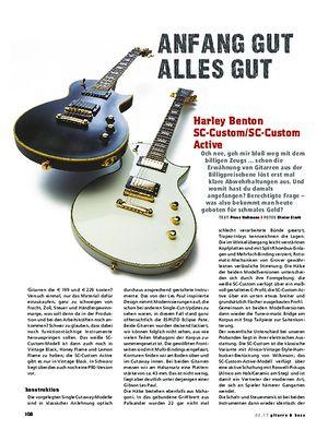Gitarre & Bass Harley Benton SC-Custom / SC-Custom Active