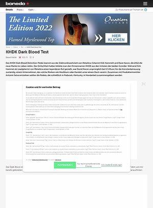 Bonedo.de KHDK Dark Blood