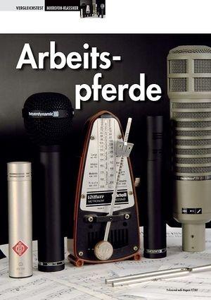 Professional Audio Arbeitspferde: Mikrofonklassiker