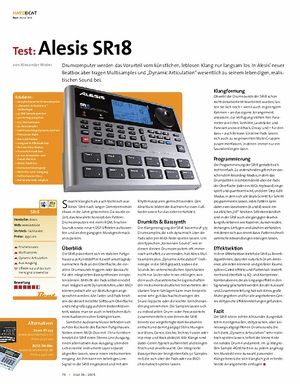 Beat Test: Alesis SR18