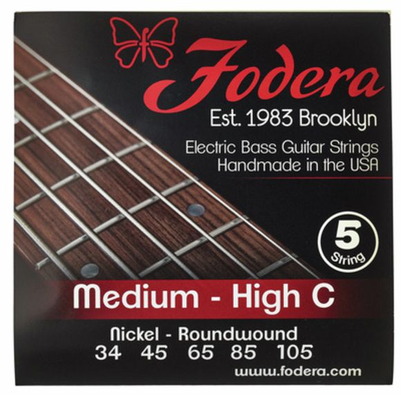 5-String Set Medium - High C Fodera