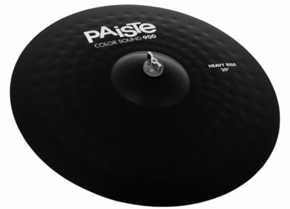 "20"" 900 Color Heavy Ride BK Paiste"