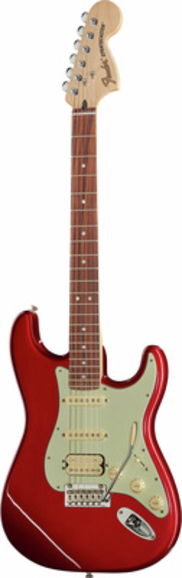 Deluxe Strat HSS PF CAR Fender