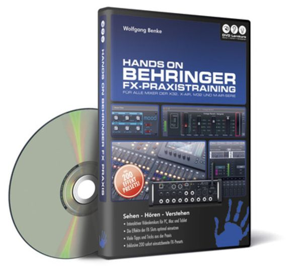 Behringer FX Praxistraining DVD Lernkurs