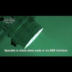Eurolite LED PAR-64 RGBAW 49x3W short