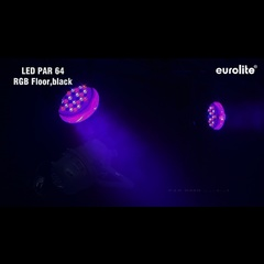 Eurolite LED Par-64 RGB 36x1W Floor