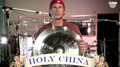 Sabian Chad Smith Holy China Vault Serie