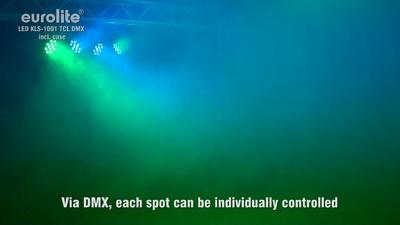 Eurolite LED KLS-1001 RGB DMX in Bundle