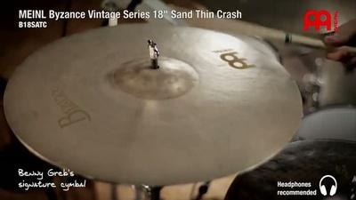 Meinl 18 Zoll Byzance Sand Thin Crash