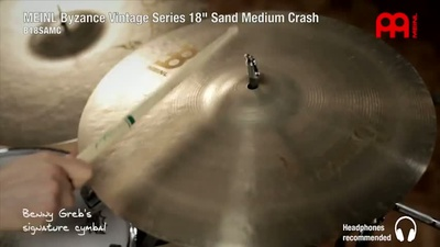 Meinl 18 Zoll Byzance Sand Medium Crash