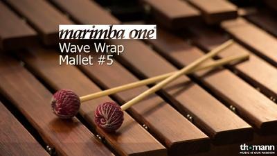 Marimba One Wave Wrap Schlägel WWR5
