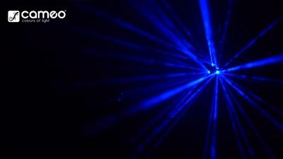 Cameo Moonflower 9W - Tri Colour LED Spot