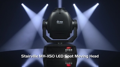 Stairville MH-X50 LED Spot Moving Head