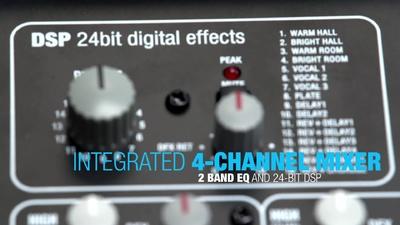 LD Systems Mix 6 AG2 Fullrangebox mit Mixer