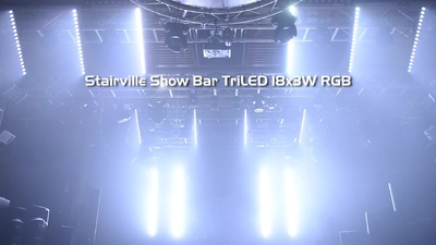 Stairville Show Bar TriLED 18x3W RGB