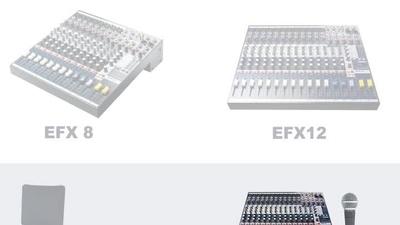 Soundcraft EFX 12 Bundle
