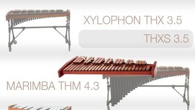Thomann Xylophon THXS 3.5