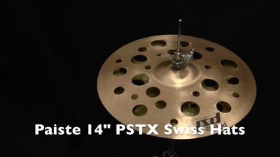 Paiste PSTX Serie 14 Swiss Hats