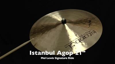 Istanbul Agop 21 Mel Lewis Signature Ride