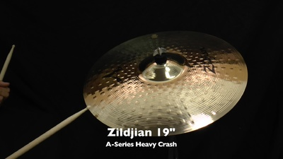 Zildjian 19 A-Serie Heavy Crash