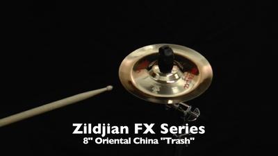 Zildjian 8 FX Oriental China