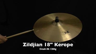 Zildjian 18 Kerope Crash - #6 1284g,