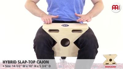 Meinl HTOPCAJ3NT - Hybrid Slap-Top Cajon