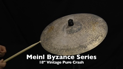 Meinl Byzance Serie B18VPC 18 Vintage Pure Crash