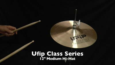 Ufip 12 Class Serie Hi-Hat Medium
