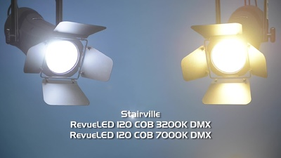 Stairville RevueLED 120 COB 7000K DMX