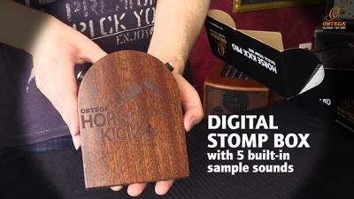 Ortega Horse Kick Pro Stomp Box