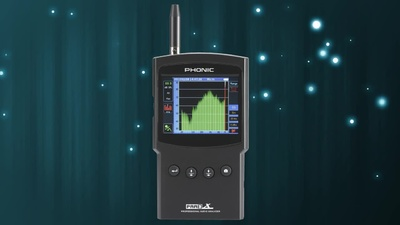Phonic PAA3X Personal Audio Analyzer
