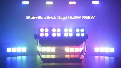 Stairville xBrick Quad 16x8W RGBW